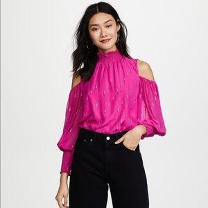 Shoshanna chiffon blouse